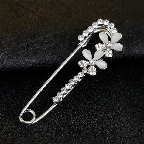 jewelry pins pins silver color safety pin brooch jewelry fashion