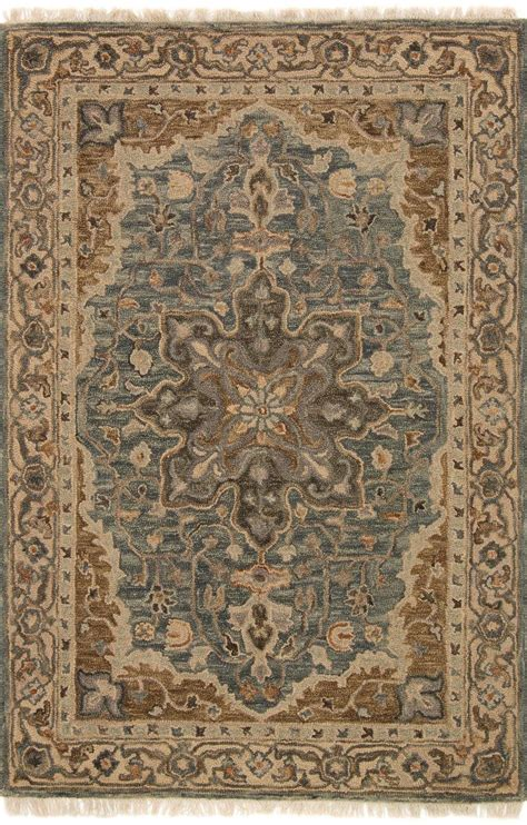 hanover oh 07 slate beige area rug magnolia home by