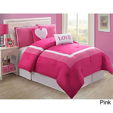 pink bed set comforter sets bedding