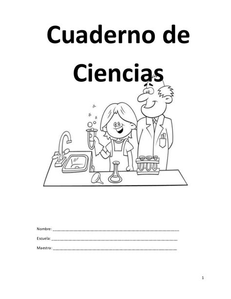 libro este cuaderno es para cuaderno de ciencias 2do