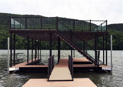 boat dock height boat dock railing dock railing ideas wahoo docks