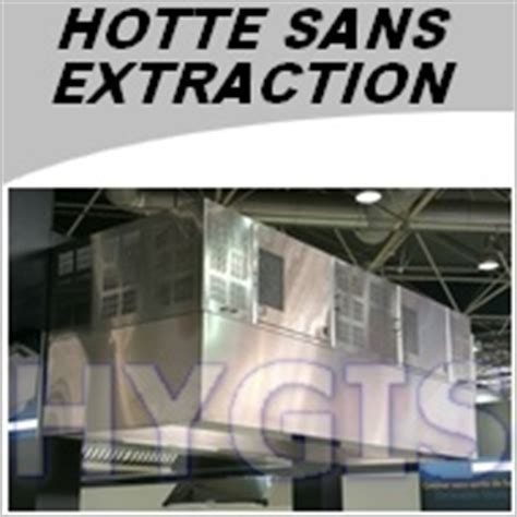 Hotte Professionnelle Sans Extraction 1803 by Hotte Professionnelle Sans Extraction Exterieure Largeur