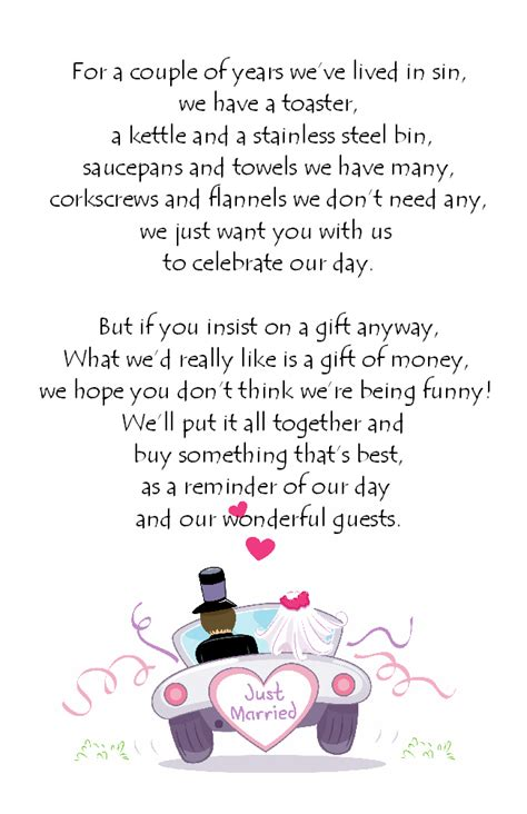 wedding invite wording sles asking for gifts on wedding invitations wording sles