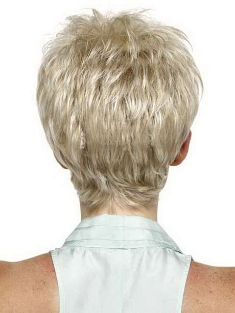 short hair pictures front and back view short pixie haircuts back view