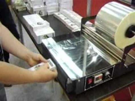 mesin pembungkusan makanan balutan plastik youtube