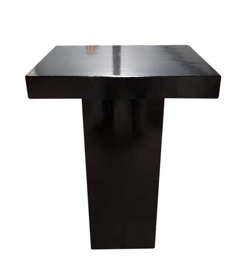 tafels en stoelen huren maastricht verhuur statafel zuil zwart te huur zuid limburg