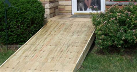 Rampsorg Ramps For Homes Building A Ramp Over Stairs