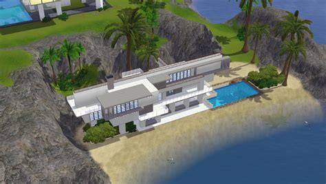 sims 3 beach house plans the sims 3 beach house plans
