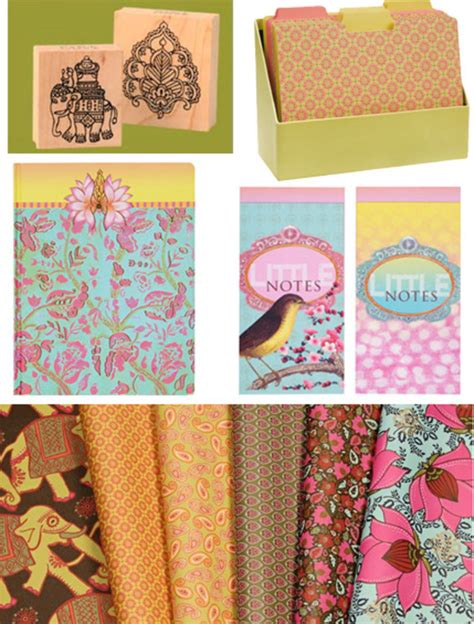 Wrapping Paper Craft Ideas - cutest office supplies at paper source 2 craft projects