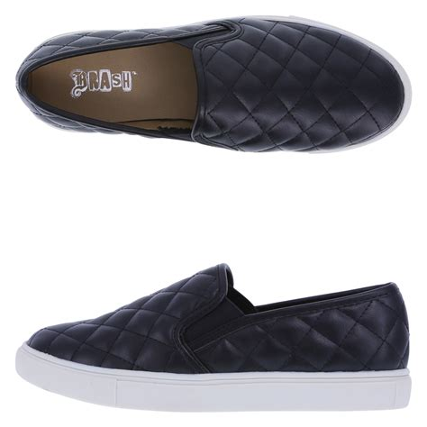 brash s crave quilted slip on shoe payless