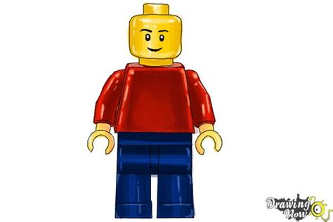 lego figure tutorial how to draw a 3d lego minifigure drawingnow