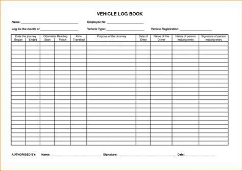 Crane Log Book Template Crane Log Book Template Business Crane Log Book Template