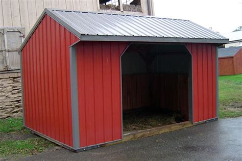 Metal Run In Shed by Windy Hill Run In Sheds