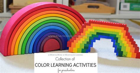 spontaneous activity in education classic reprint books collection of color learning activities for preschoolers