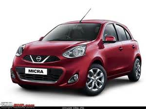 new nissan micra 2018 2018 nissan micra launched with new features team bhp