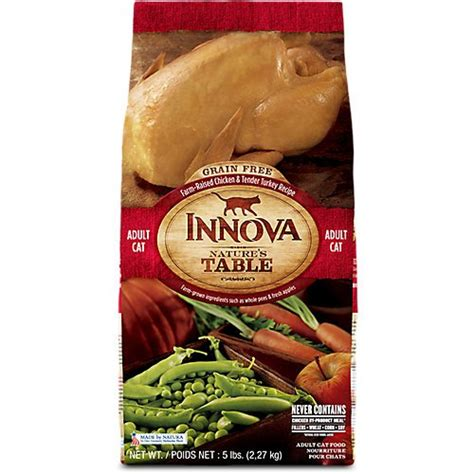 innova food innova nature s table grain free turkey chicken review