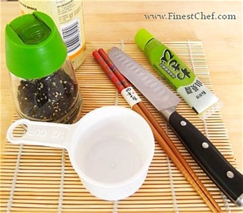 how to make sushi at home finestchef