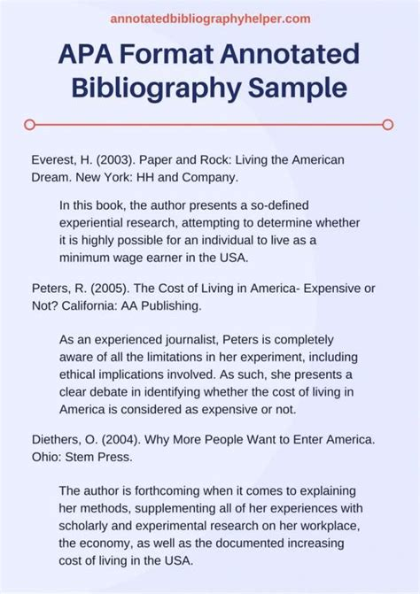 annotated bibliography template  template