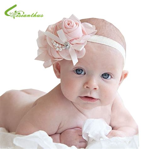 moq 1pc rhinestone baby headband hairband new style beautiful headband hairband baby flowers