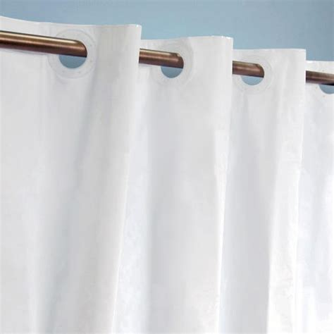 shower curtain with clear panel hook free polyester shower curtain with clear panel bathroom