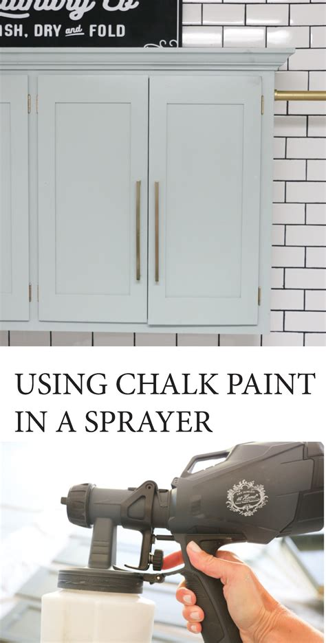 diy chalk paint in a sprayer chalk paint can be used in a paint sprayer sincerely