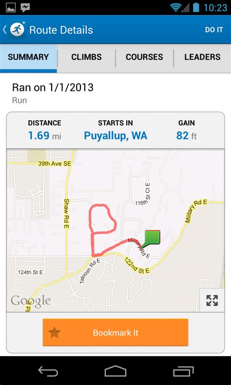 map myrun mapmyrun up the pace with this run tracking app android