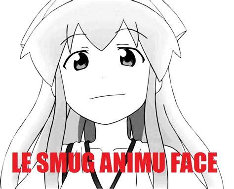 le smug reddit mihmay smug anime face   meme