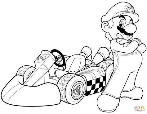Mario 9 Coloring Pages by Mario Characters Coloring Pages