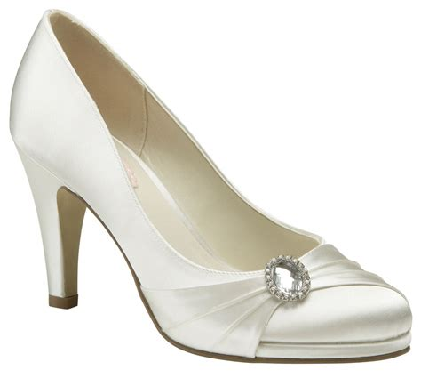 Wedding Shoes Uk by Paradox Pink Strawberry Ivory Wedding Shoes