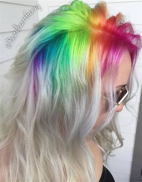 colored roots best 25 root color ideas on haircut and color