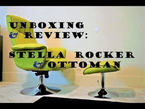 stella rocker recliner and ottoman stella rocker recliner with ottoman review