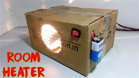 make a home how to make room heater at home