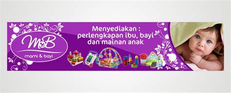 design banner untuk ulang tahun sribu desain banner desain spanduk untuk toko mami bayi