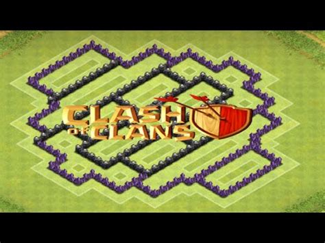 layout cv 8 farming youtube clash of clans layout de farm cv 8 4 morteiros youtube