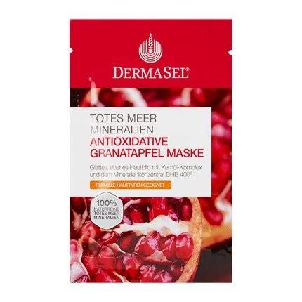 Pomegranate Detox Mask by Dermasel Spa Dead Sea Mask Pomegranate Three Pack