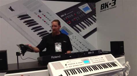 kraft  roland bk  backing keyboard demo  namm  youtube