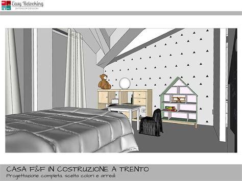 progetti cabina armadio progetto cameretta bambina stile nordico con cabina