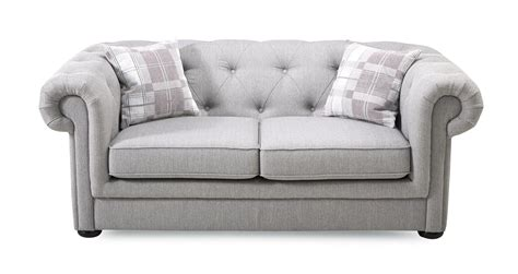Dfs 2 Seater Sofa Bed by Dfs Opera Ash Grey Fabric 3 Seater 2 Seater Sofa Bed