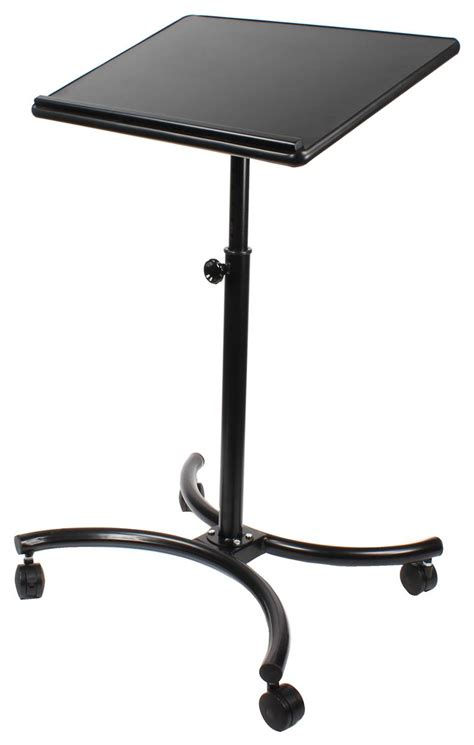 adjustable height computer desk mobile laptop desk height adjustable laptop stand