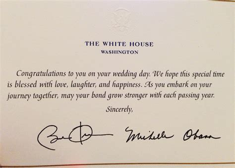 Wedding Congratulation Notes by How To Invite The President To Your Wedding Oh Lovely Day