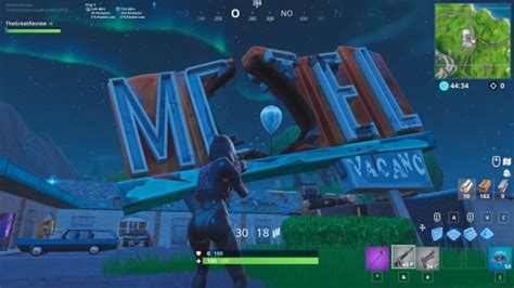 fortnite eclater  ballons dores emplacements des