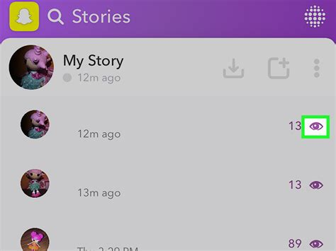 how to look at other peoples snap chats how to see who viewed your snapchat story 4 steps with