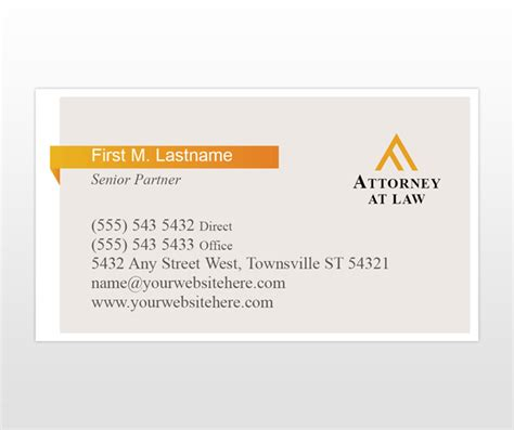 attorney business card template blaisdell attorney at newhairstylesformen2014