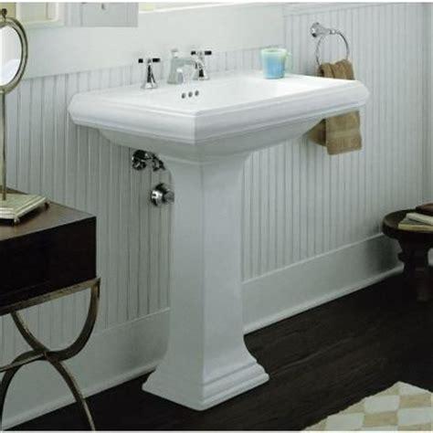 kohler memoirs pedestal sink 24 kohler memoirs ceramic pedestal bathroom sink in