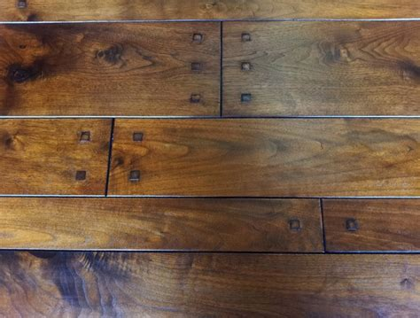 Pegged Hardwood Floors by Walnut Plank With Square Pegs Traditional Hardwood