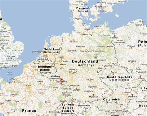 map of saarbrucken germany saarbrucken kaiserslautern zone elder cassell