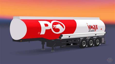 combustible semi remolque petrol ofisi  euro truck