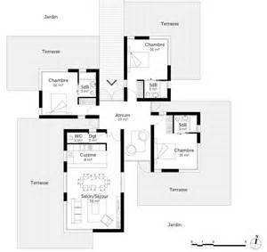 plan contemporaine 120 m 178 ooreka