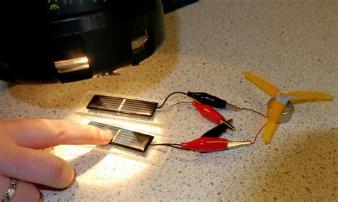 electric circuit science project classroom experiments the solar spark
