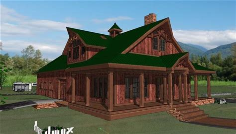 Residential Pole Barn Floor Plans by Equestrian Living Quarters